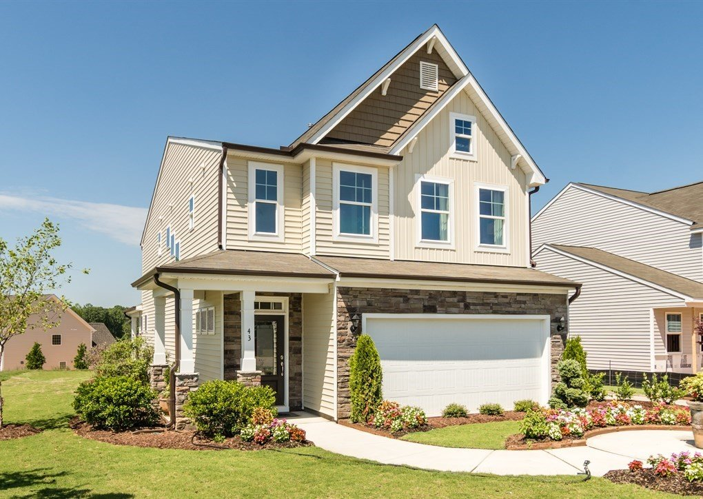 Flowers Crest Model Home in Clayton, NC