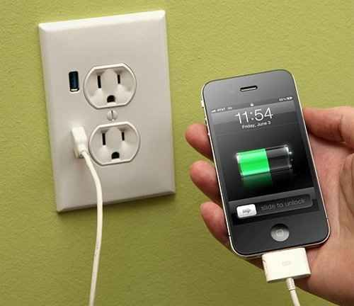 USB Charging Outlet