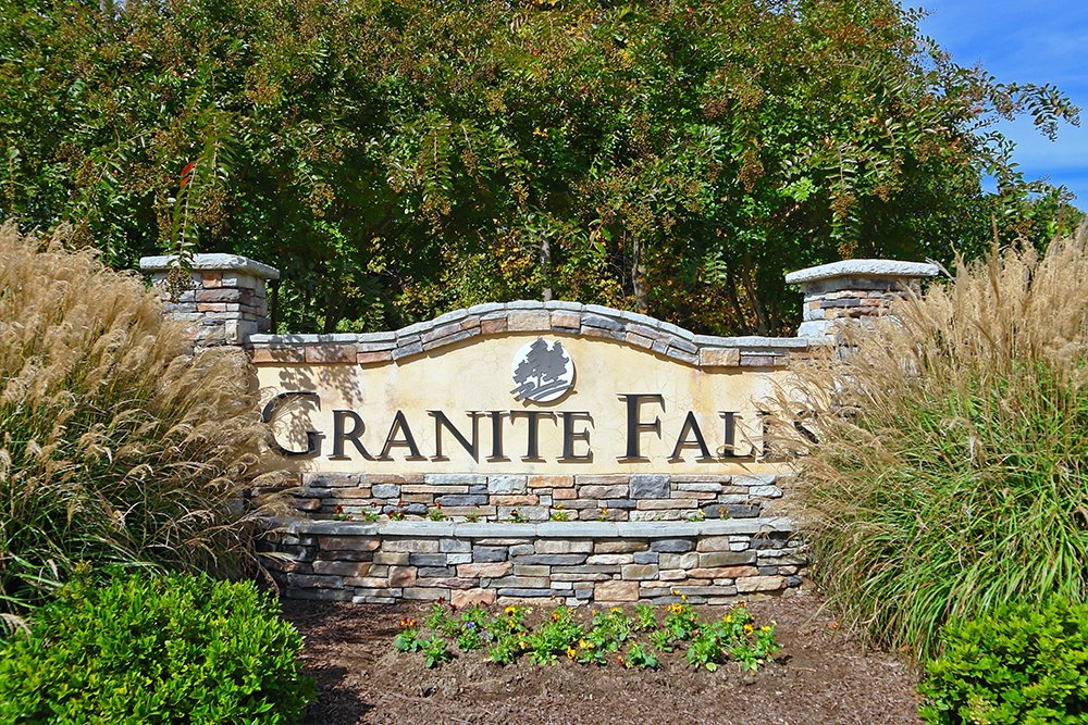 Granite Falls Community Sign