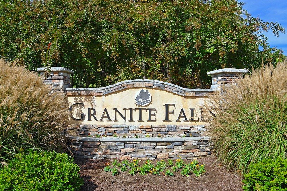 Granite Falls Community Sign