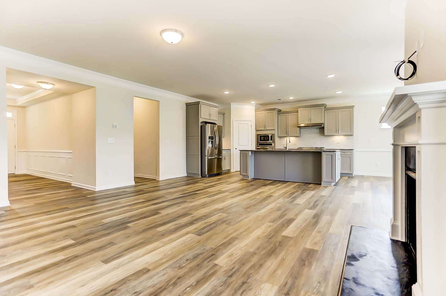 Flooring in move-in-ready home