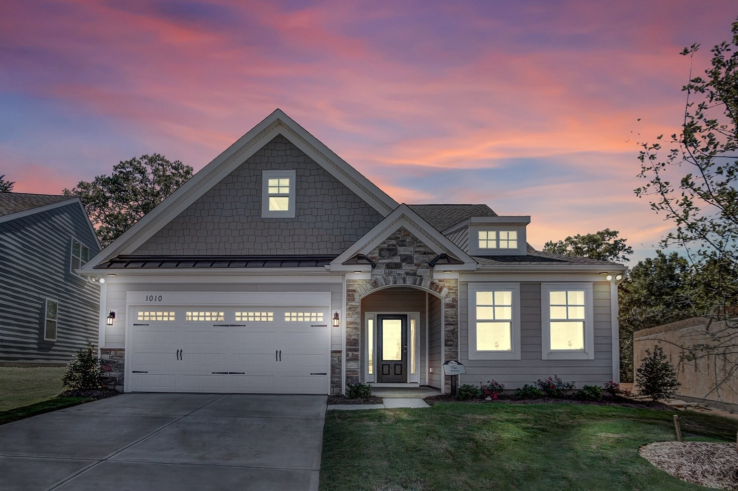 Eastwood Homes Builds Ranch Style Homes