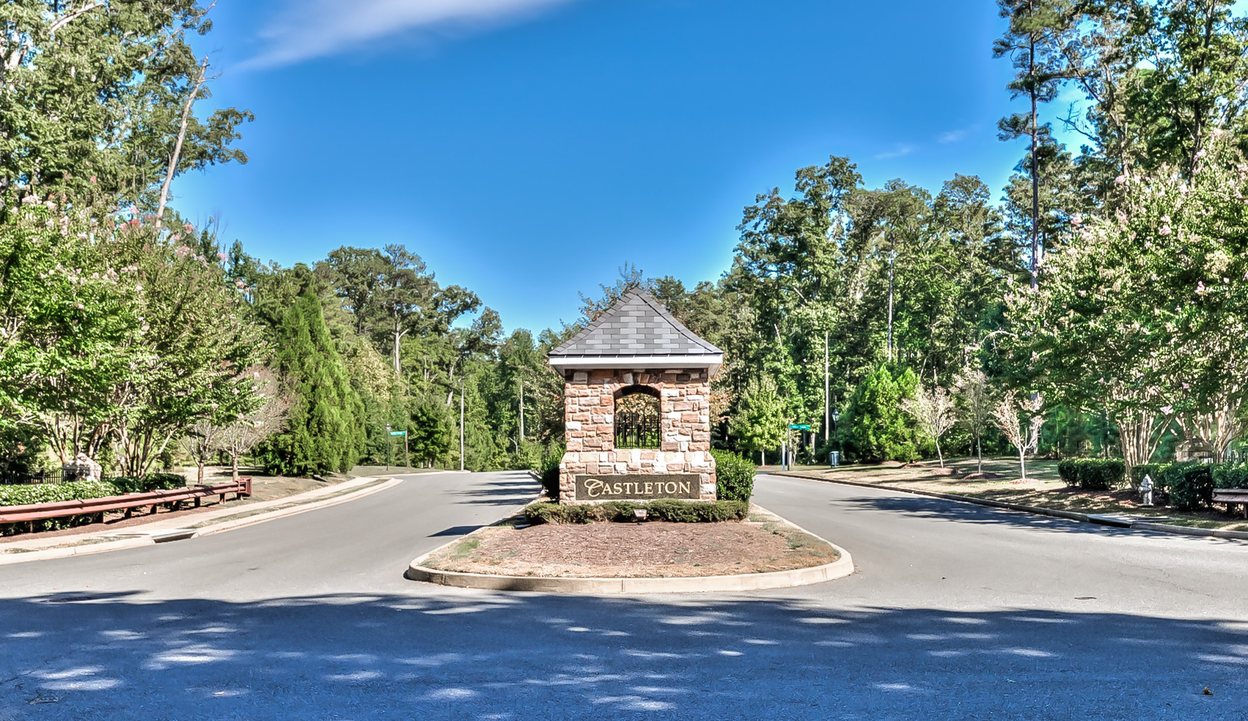 Castleton entrance in Henrico