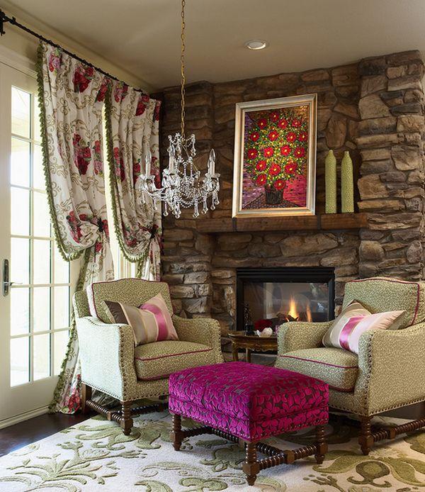 Jewel toned velvet design trend