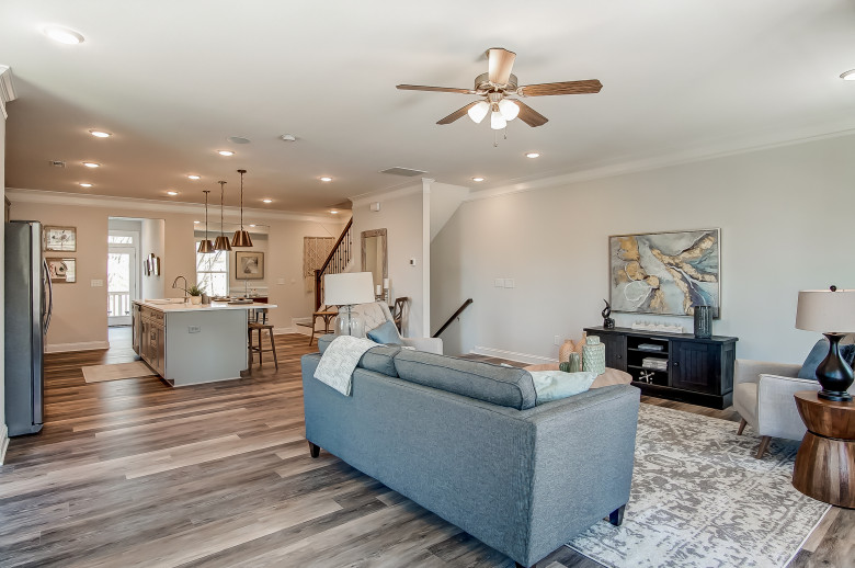 Chandler Model at Glenmere Townhomes in Charlotte, NC