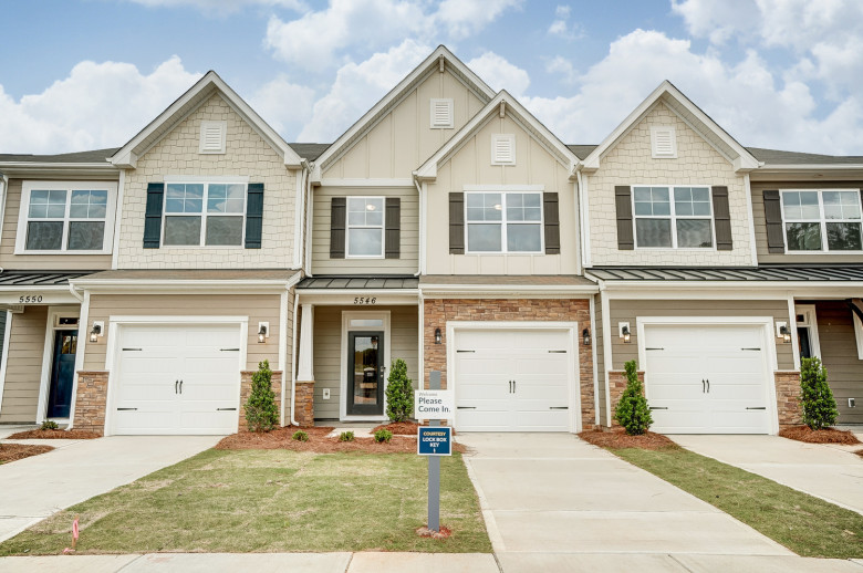 Ashland Model at The Enclave at Davis Lake Townhomes in Charlotte, NC
