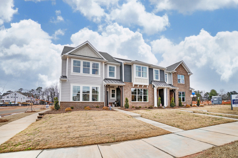 Norris Model at The Enclave at Davis Lake Townhomes in Charlotte, NC