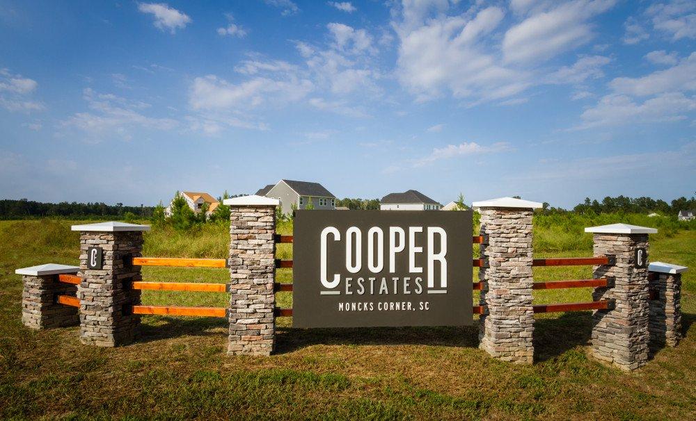 Cooper Estates Entrance Monument