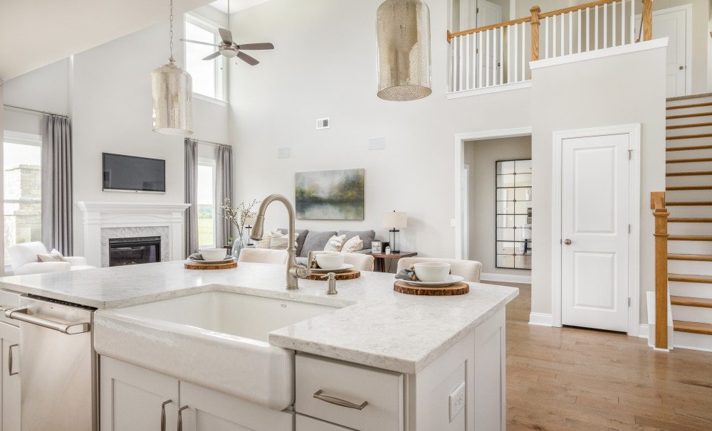 Raleigh Kitchen and Family Room