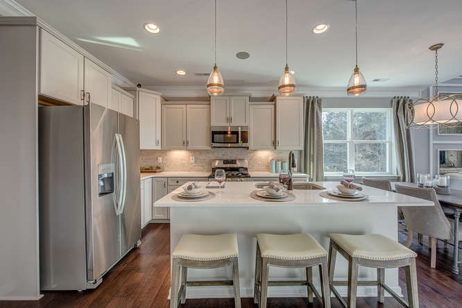 Cary Townhome Kitchen