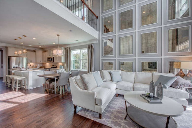 Cary Townhome Family Room