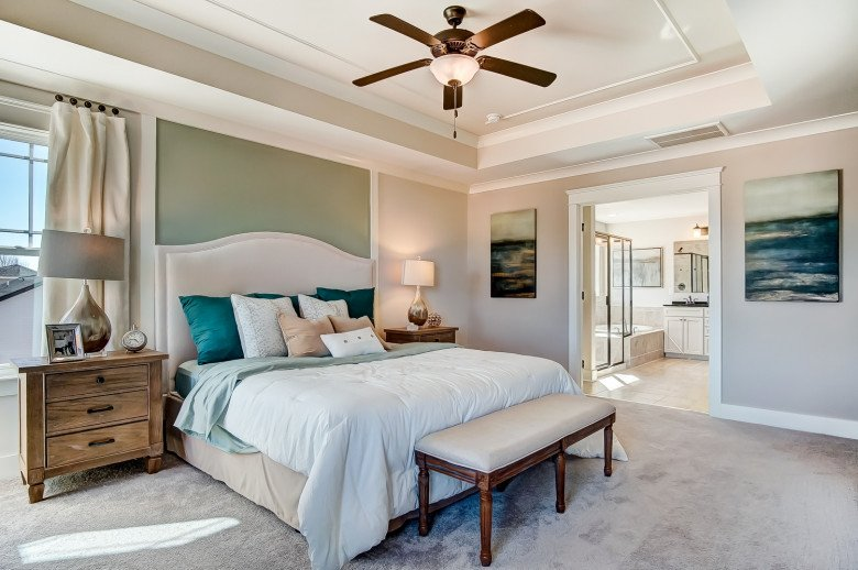 Atherton Owner's Bedroom