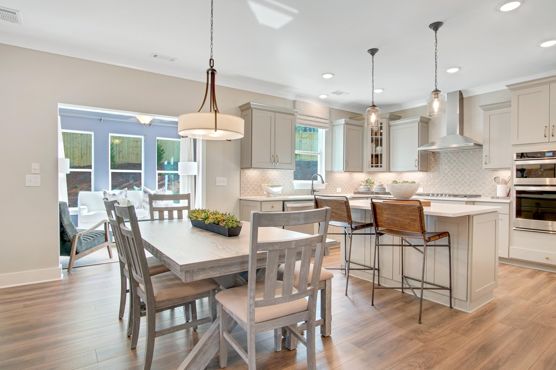 Charleston Model Breakfast Area and Kitchen