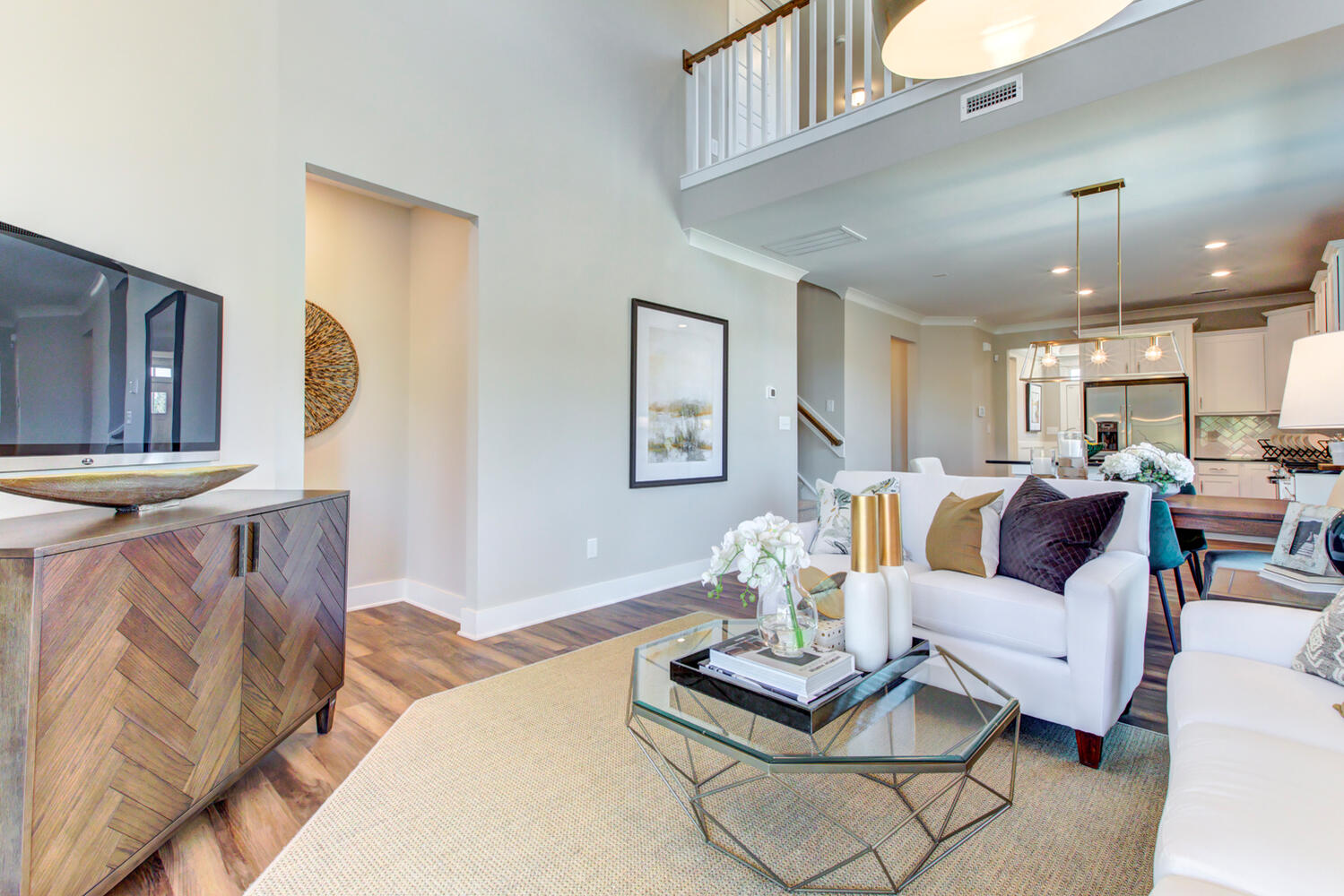 Highland Park Model Cary Family Room