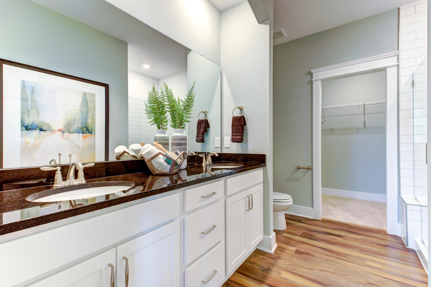 Highland Park Model Cary Owner's Bath