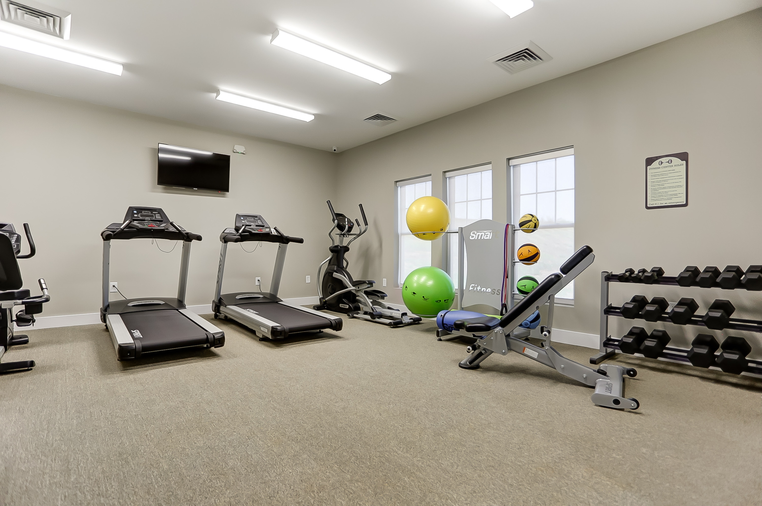 Robinson Oaks Clubhouse Fitness Center