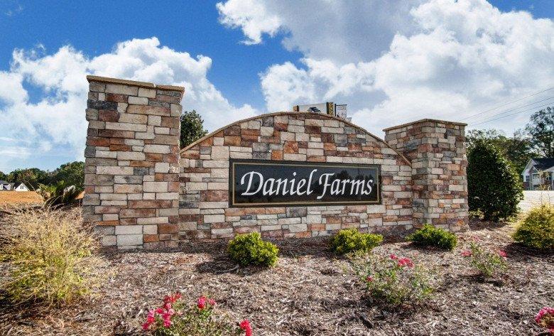 Daniel Farms Entrance Monument