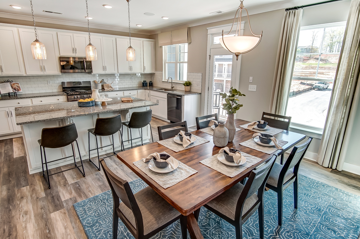 Brantley Kitchen and Dining Area