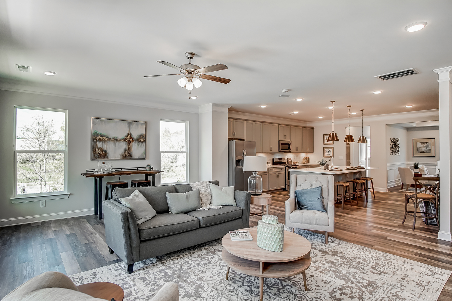 Chandler Family Room and Kitchen