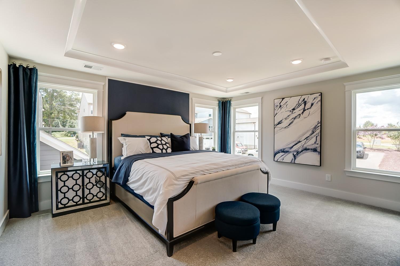 Cambridge Townhome Owner's Bedroom