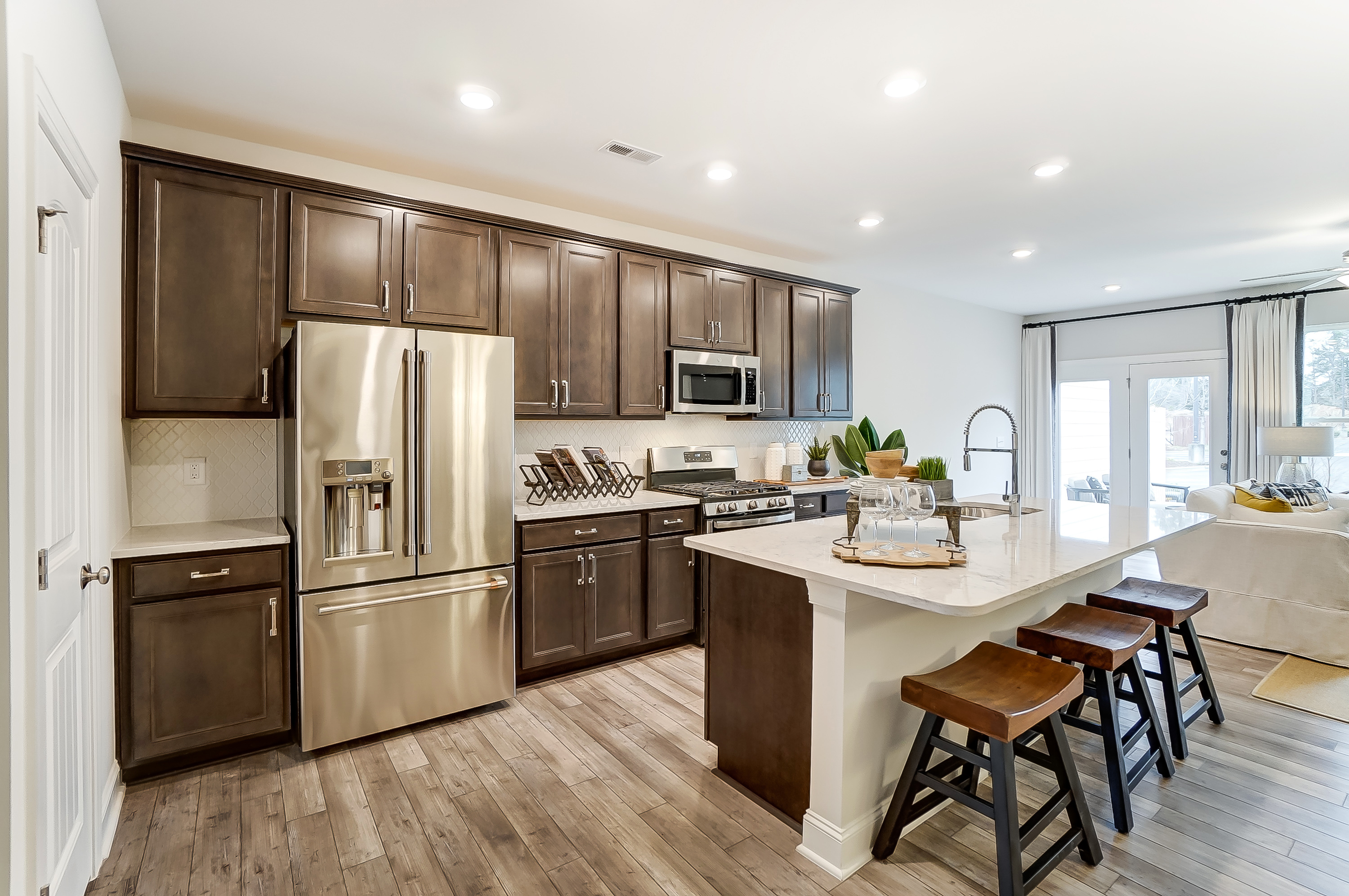 Highland Park Ashland Model Kitchen