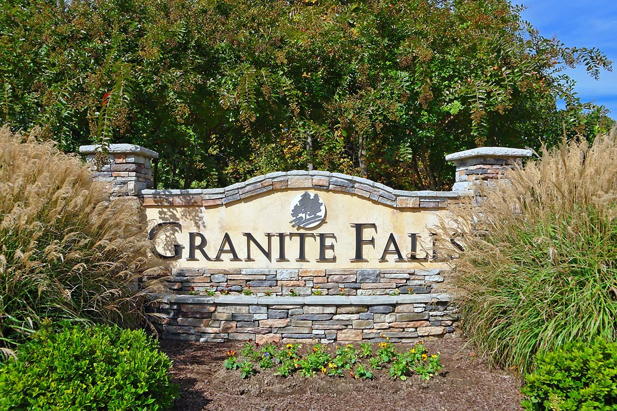 Granite Falls Entrance Monument