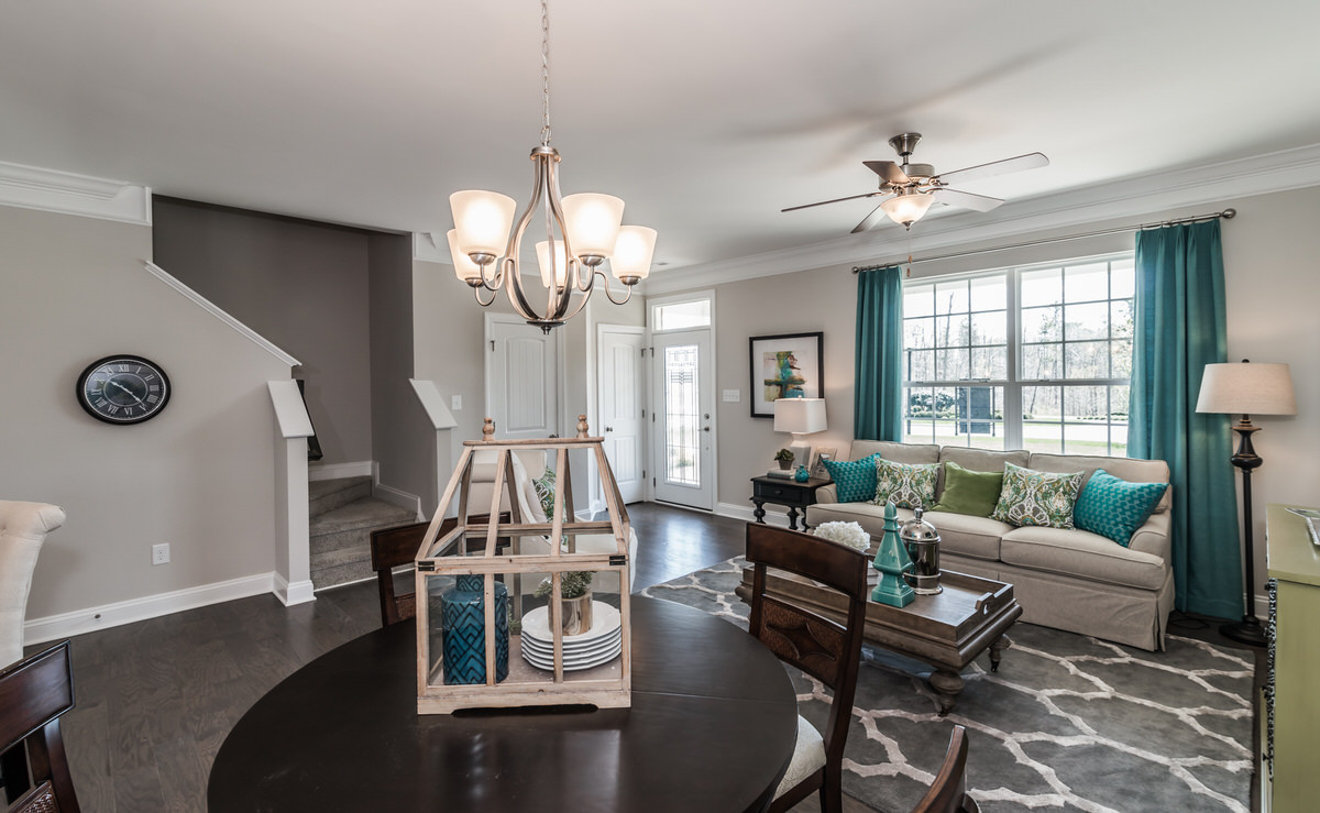 Edenton Townhome Family Room