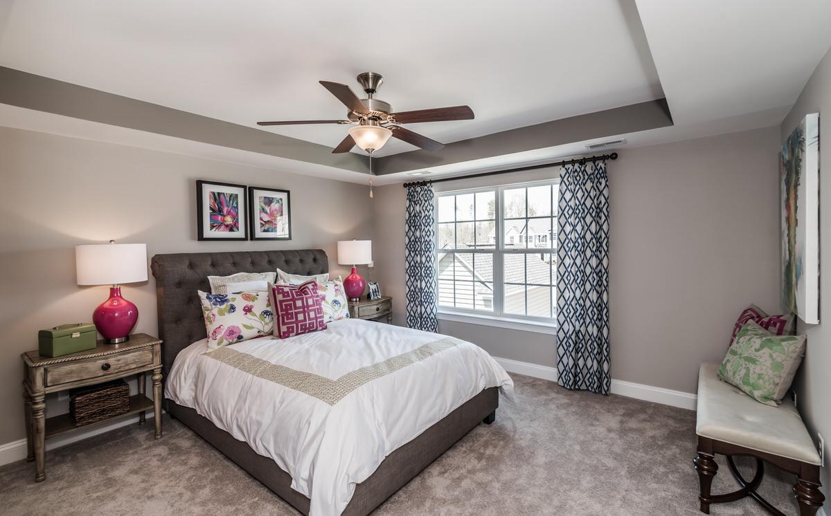 Burlington Townhome Owner's Bedroom