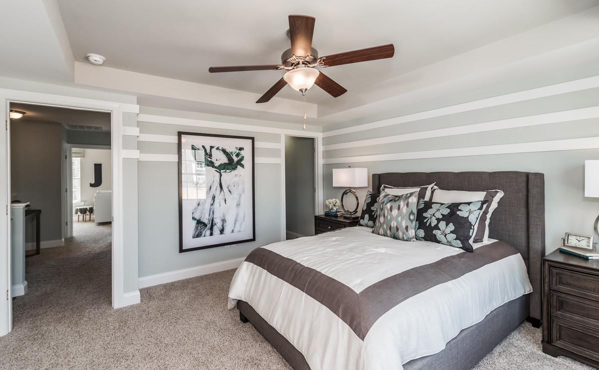 Morganton Townhome Owner's Bedroom