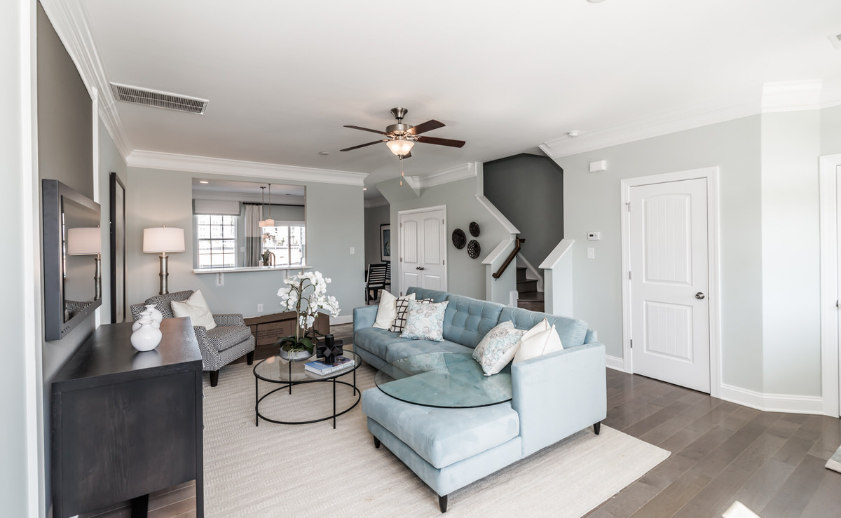 Morganton Townhome Family Room