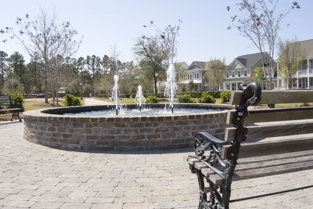 Carnes Crossroads Fountain