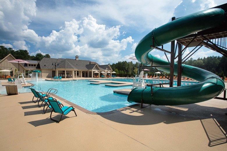 Harpers Mill Pool Slide
