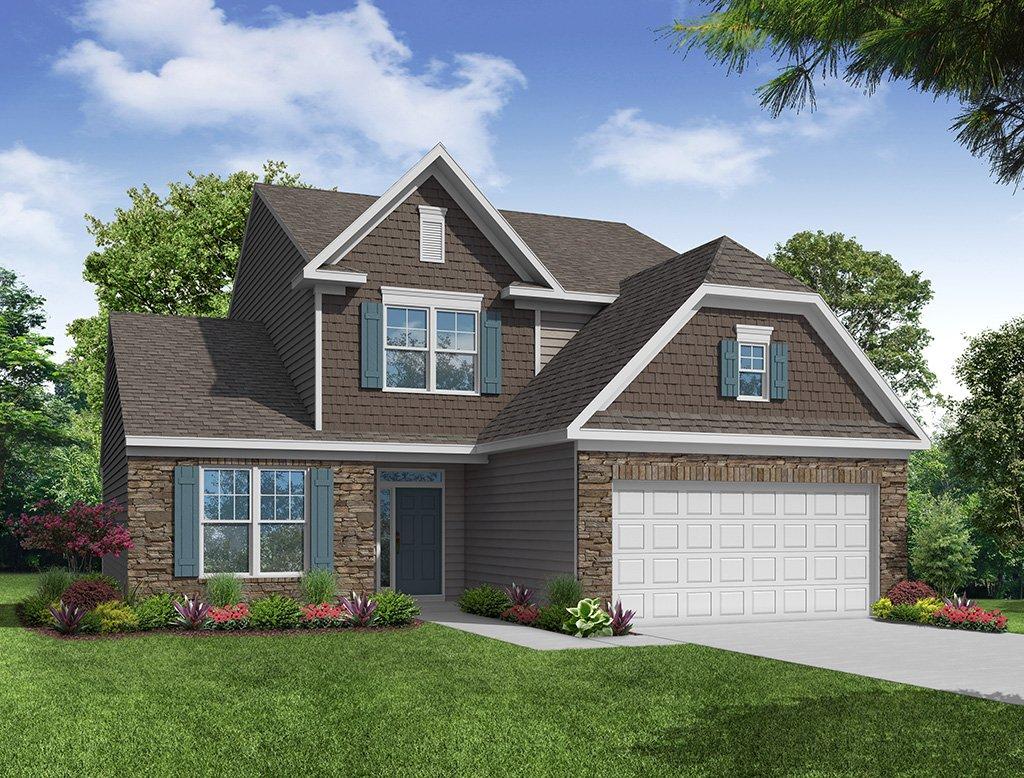 Raleigh Floor Plan River Oaks Eastwood Homes