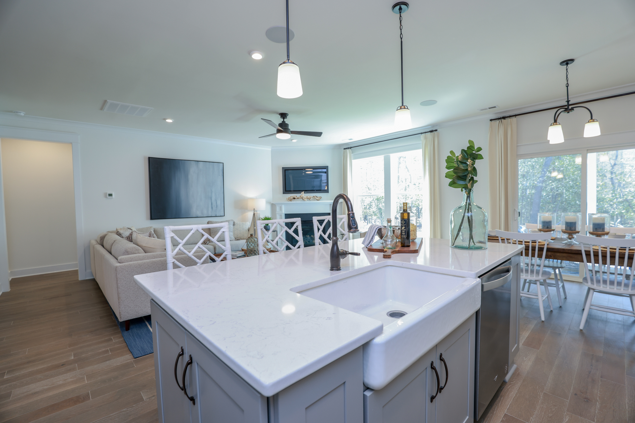 Wescott Kitchen and Family Room