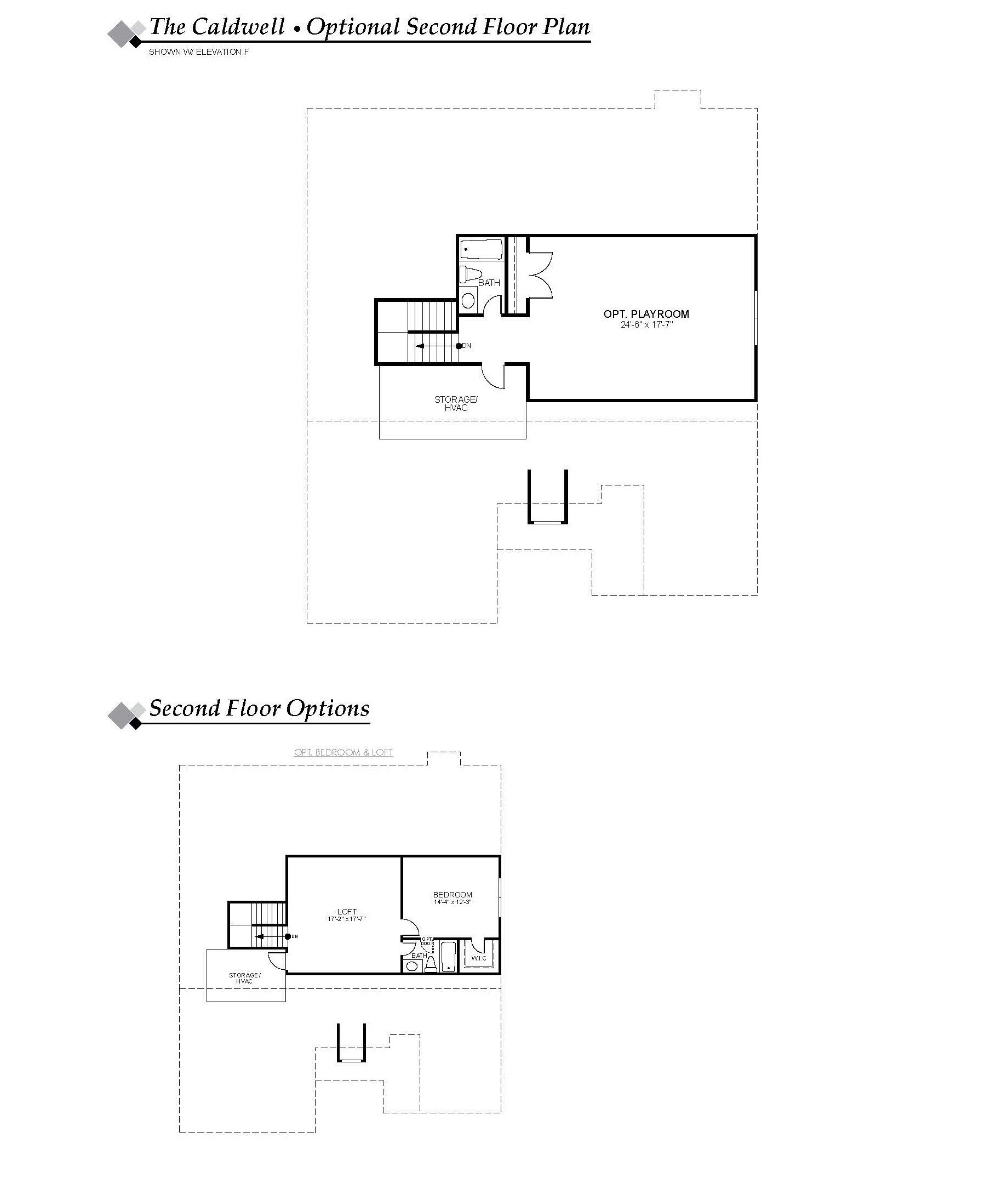 New Caldwell Floor Plan In Indian Trail Nc Eastwood Homes