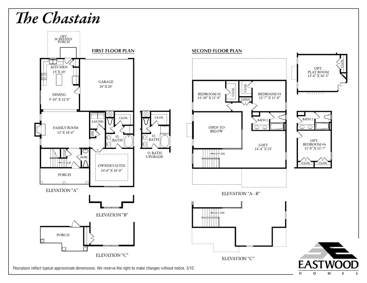 Chastain First Floor Image