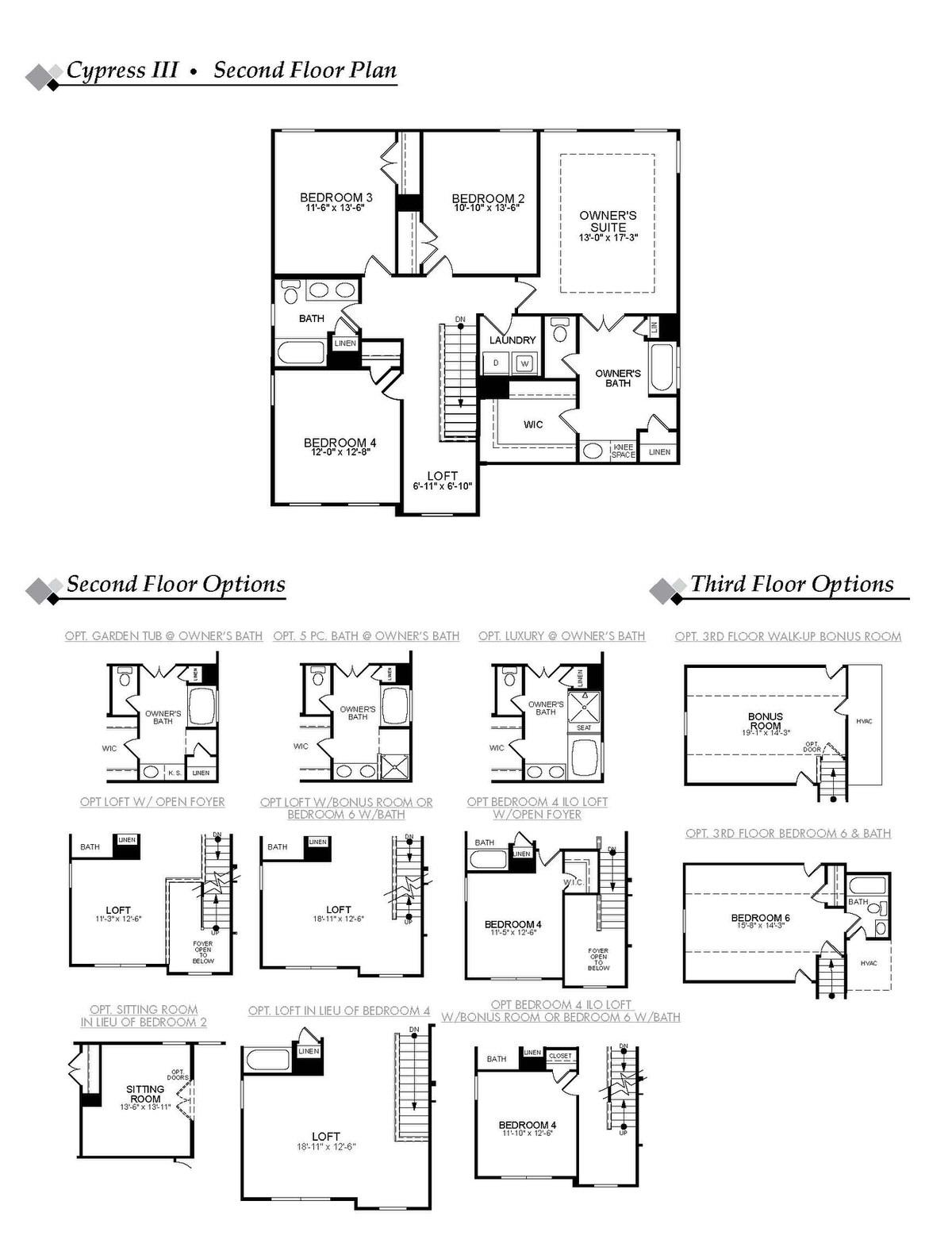 Cypress III Second Floor Image