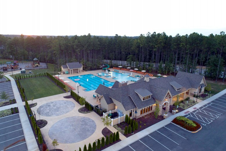 Harpers Mill Clubhouse Aerial