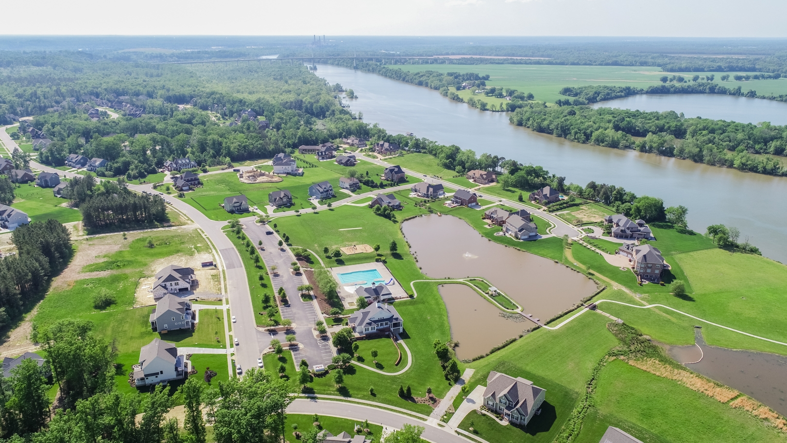 Meadowville Landing Amenity and River