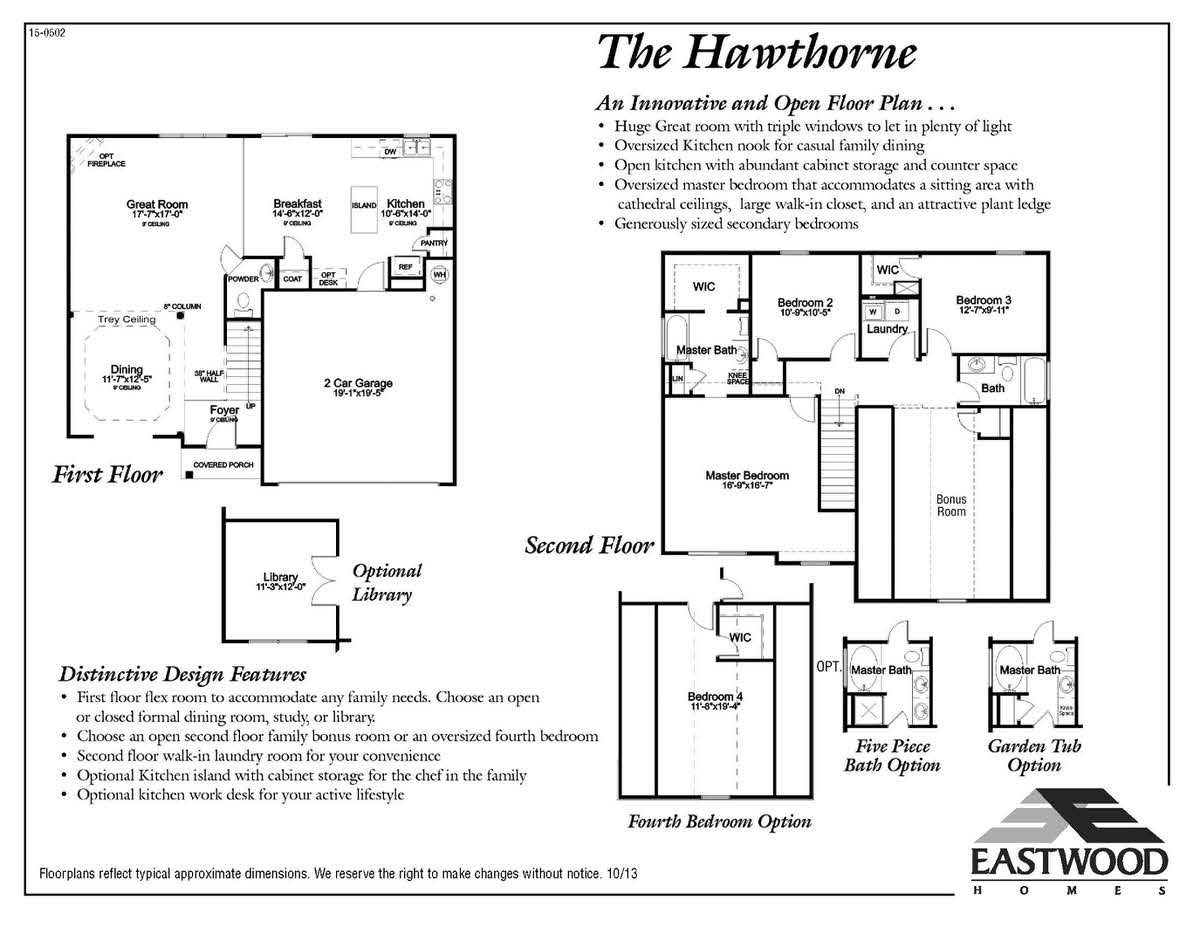 Hawthorne First Floor Image