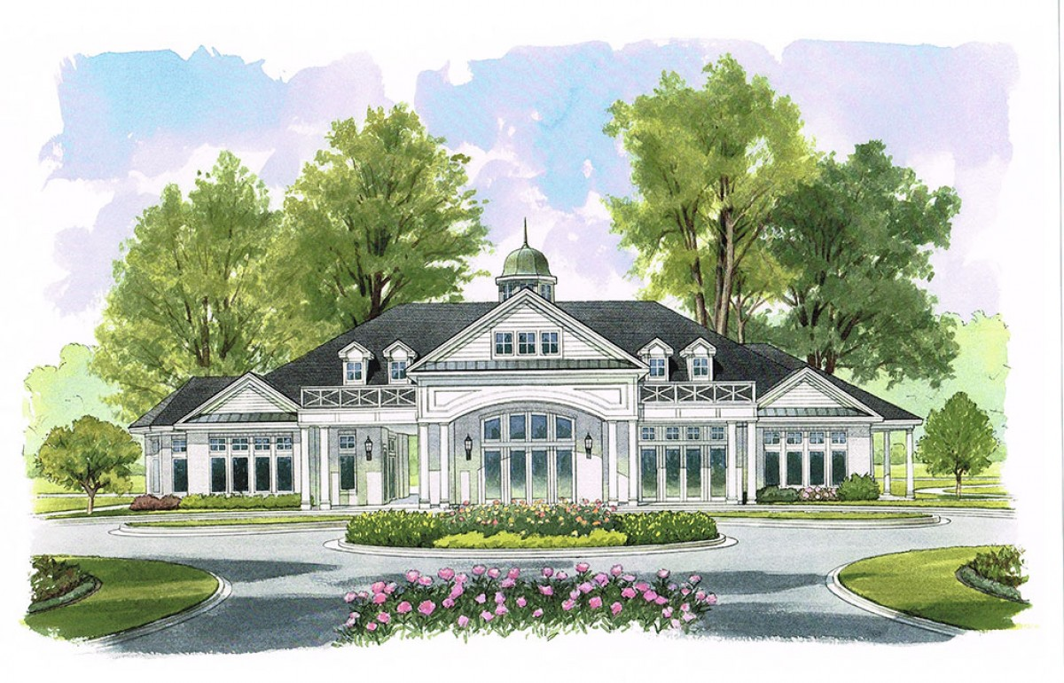 Heritage Clubhouse Rendering