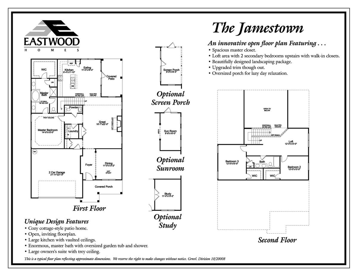 Jamestown First Floor Image