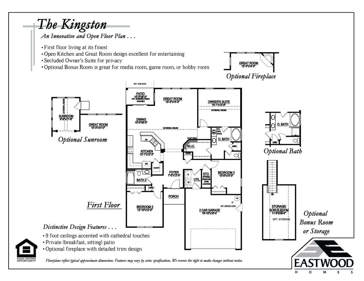 Kingston First Floor Image