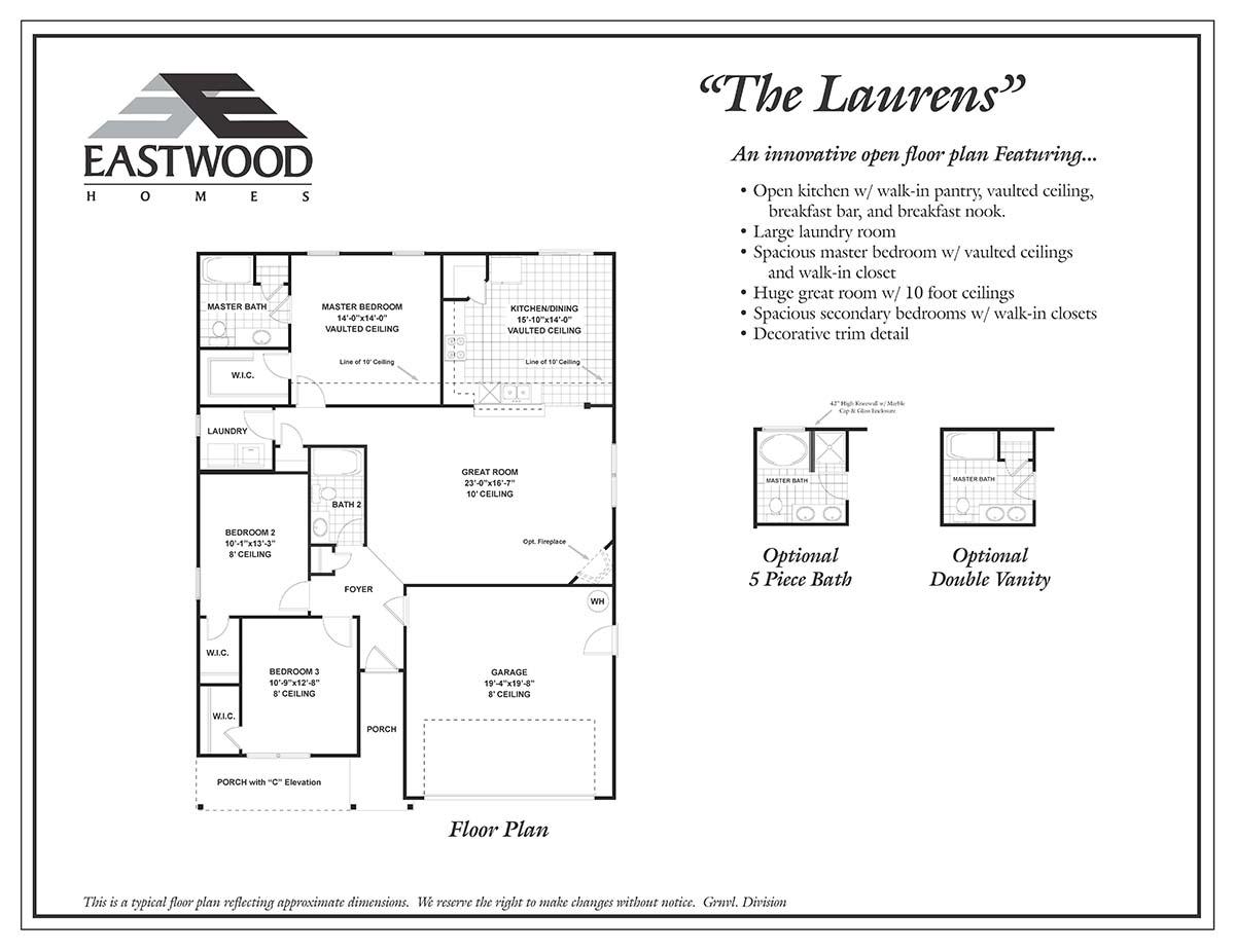 Laurens First Floor Image