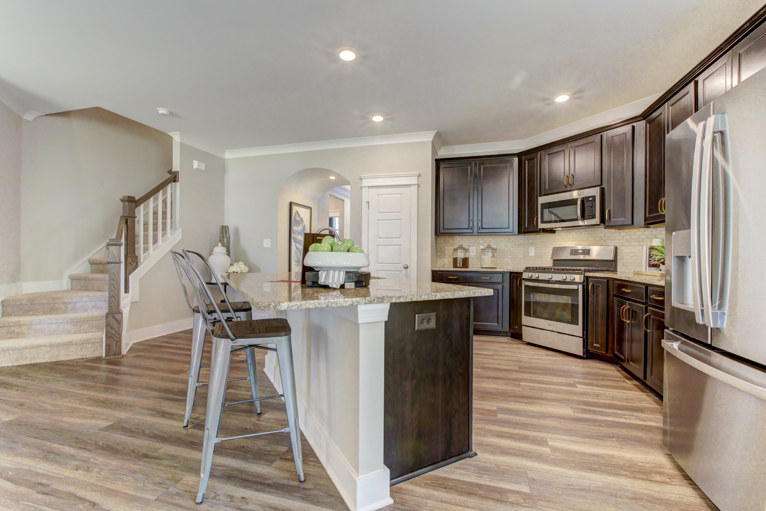 Norman Model Home Kitchen