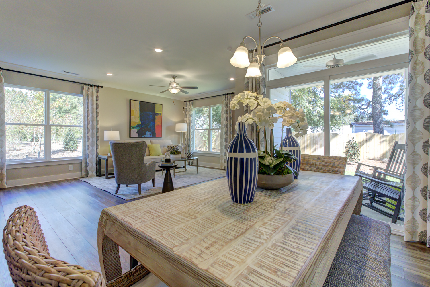 Norman Model Home Dining Area