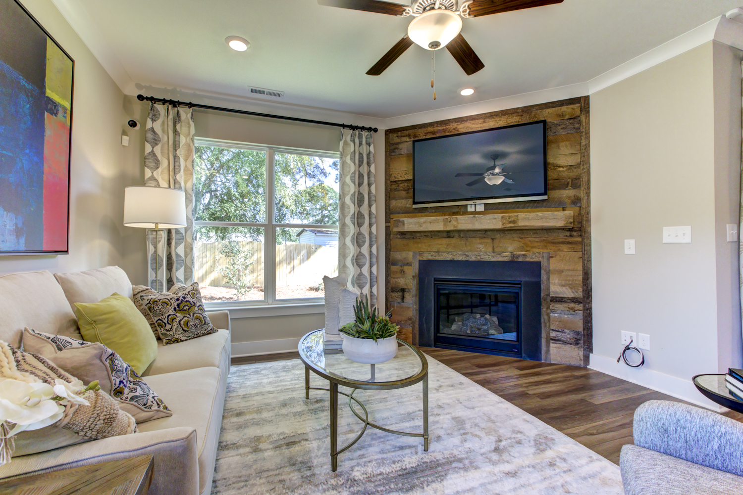 Norman Model Home Living Area