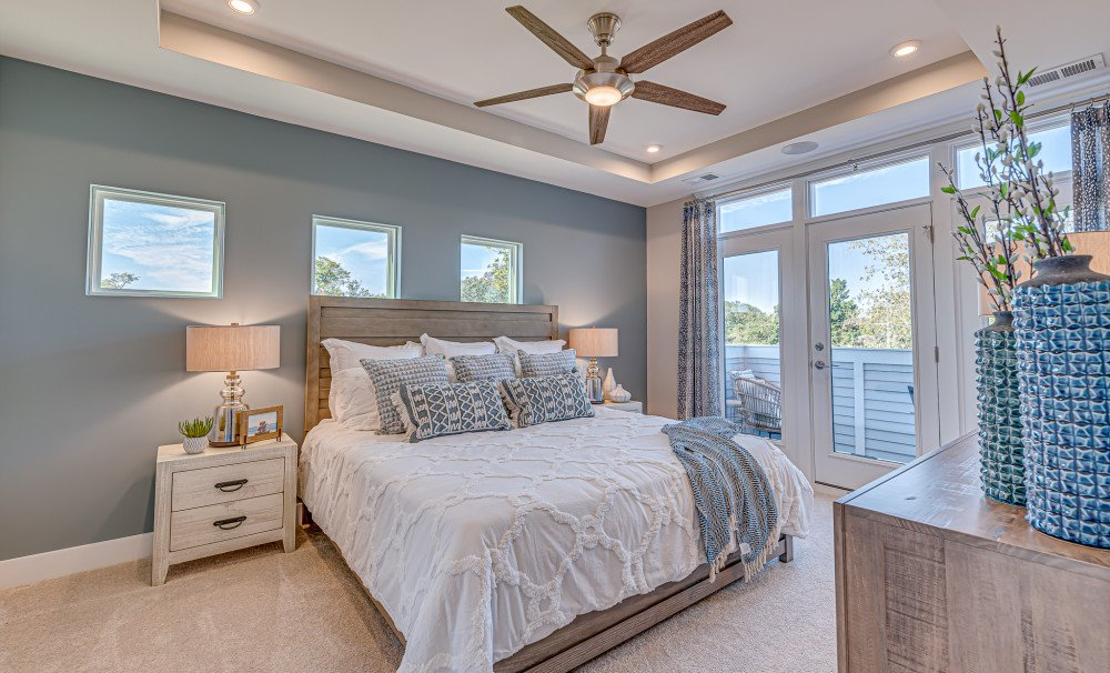 Mixson Townhome Owner's Bedroom