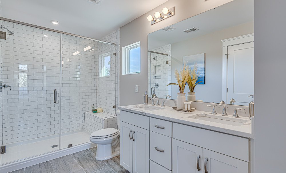 Mixson Townhome Owner's Bath