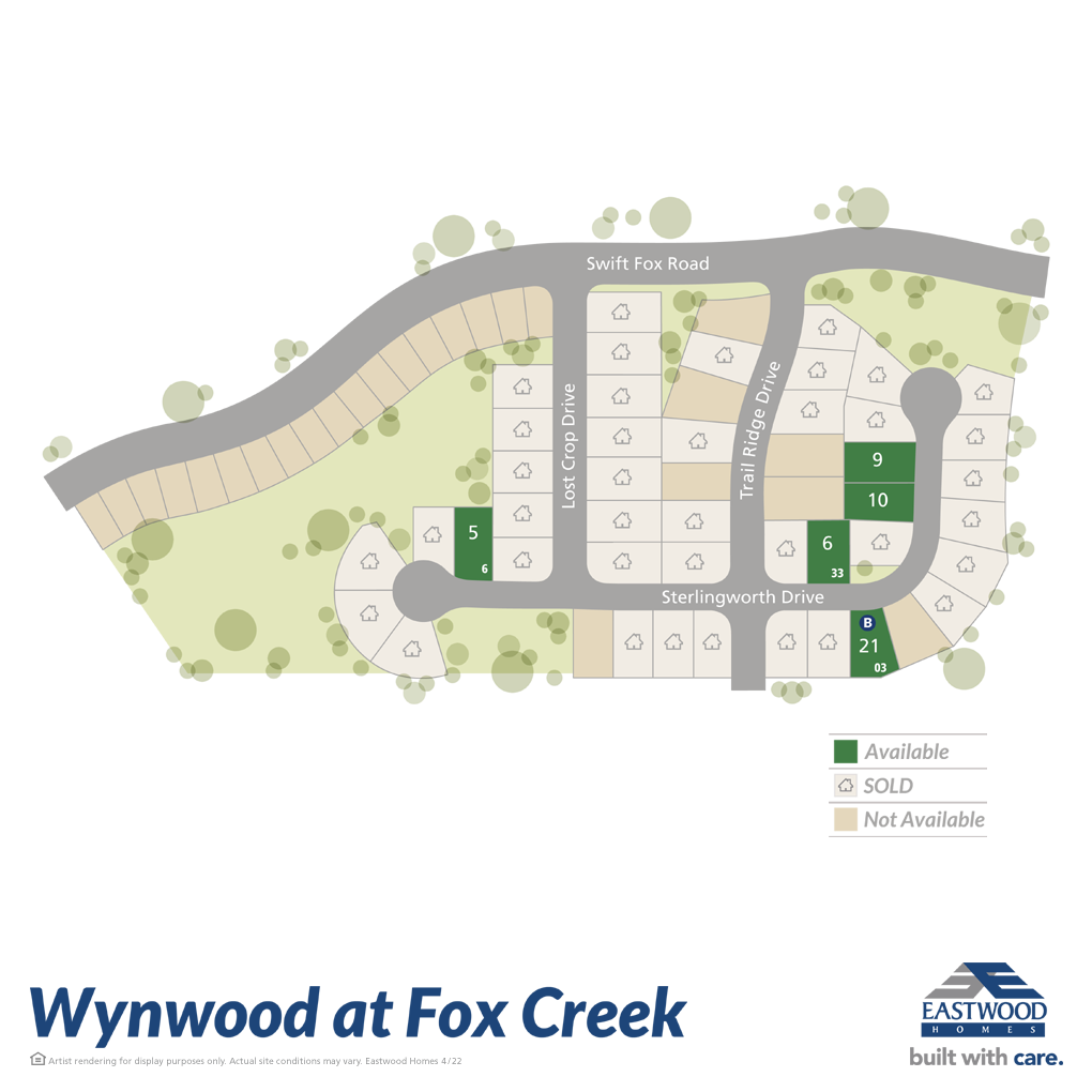 Wynwood at FoxCreek Site Plan
